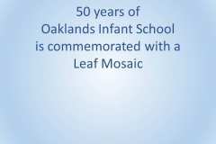 50 years of Oaklands Infants