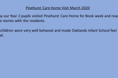 Care Home Visit March 2020